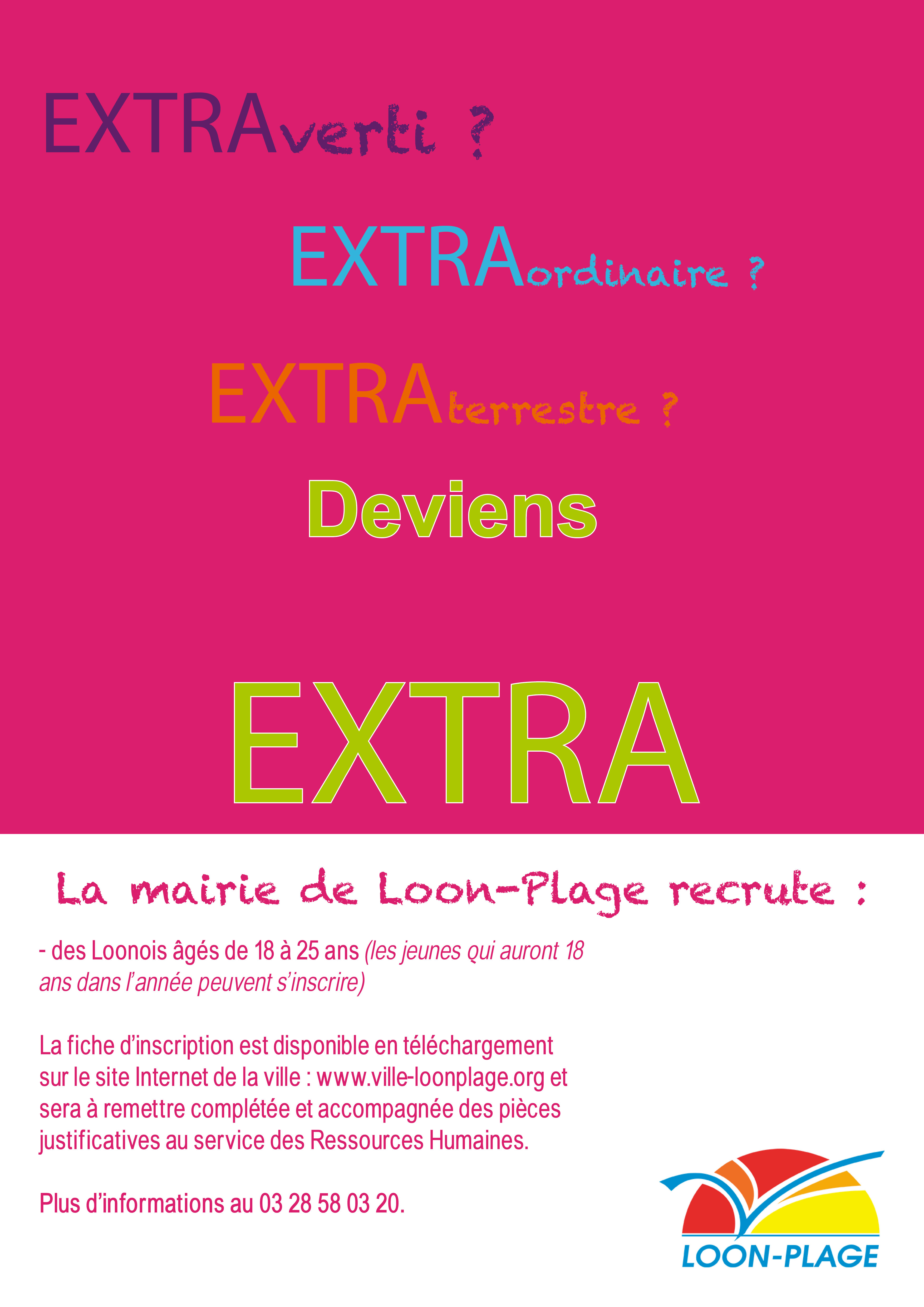 affiche extra